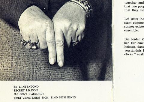 dizionario dei gesti